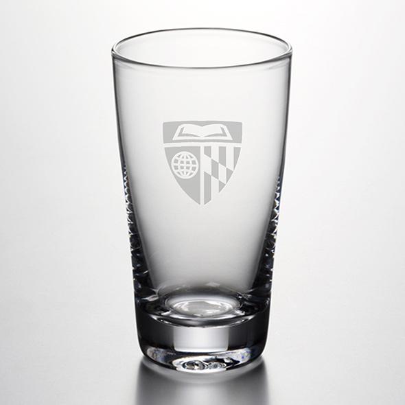 Johns Hopkins University Pint Glass By Simon Pearce At M