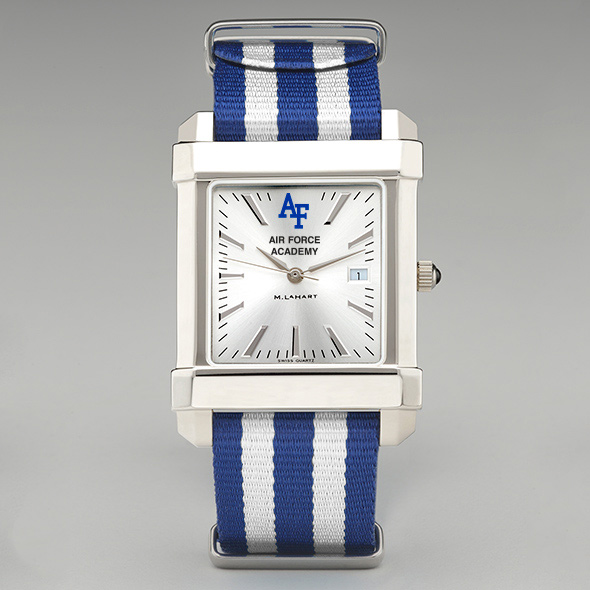 Air Force Men S Collegiate Watch With Nato Strap At M