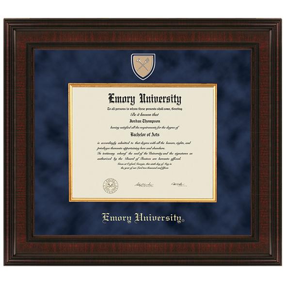 Emory Excelsior Diploma Frame At M Lahart Amp Co